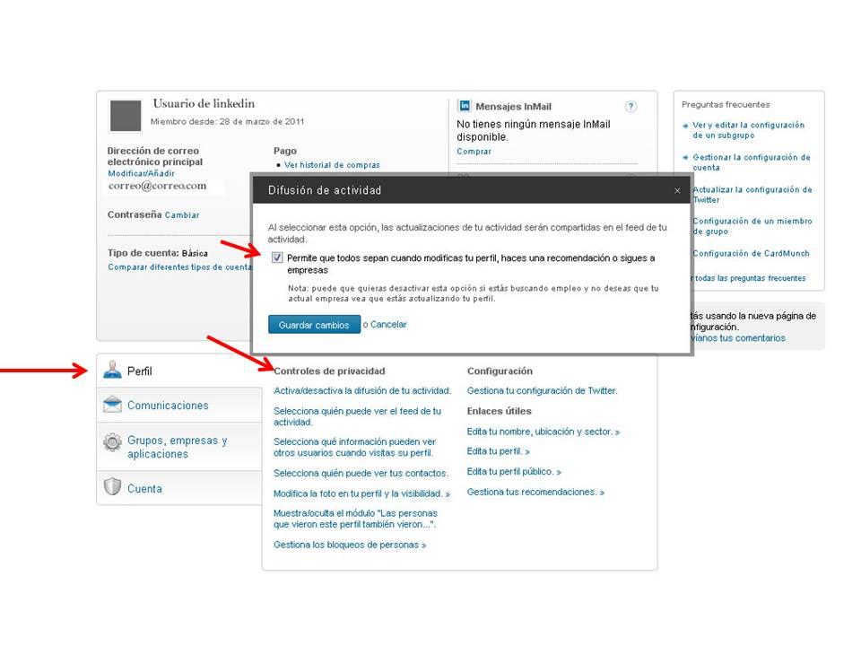 como  buscar empleo en linkedin