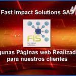 Páginas web desarrolladas por Fast Impact Solutions SAS
